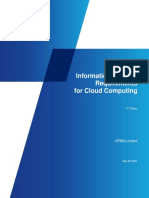 Security Requirements for Cloud Computing (003)