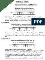 Traduction datasheet 1602A