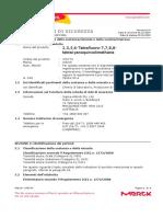 _msds_2,3,5,6-Tetrafluoro-7,7,8,8- tetracyanoquinodimethane_ITA