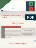 Understanding Cost-Benefit Analysis