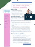 JBMF Newsletter