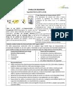 2.- Charla de seguridad ( GFCI y ELCB)
