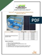 PRICE LIST-SUNLIGHT PUMP 0917-REV-00 (1)