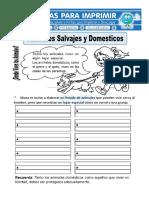 Ficha-de-Animales-Salvajes-y-Domesticos-para-Primaria