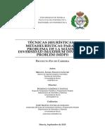 TECNICAS HEURISTICAS Y METAHEURISTICAS PARA EL PROBLEMA DE LA MAXIMA DIVERSIDAD (MAXIMUM DIVERSITY PROBLEM (MDP)).pdf