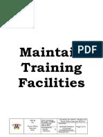 Maintain Training Facilities