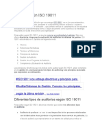 Auditar según ISO 19011