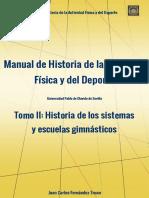 MANUAL DE HISTORIA DE LA ACTIVIDAD FÍSICA Y DEL DEPORTE.TOMO II.FINAL. DEFINITIVO 1