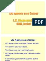 Agency as a career