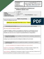 11°1 - TAREA DE RELIGION PARABOLA DELOS TALENTOS - ARBOLEDA MILTON