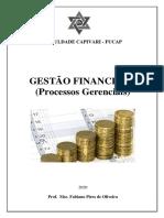 Apostila de Gestão Financeira Processos Gerenciais Cap 1 e 2  2020