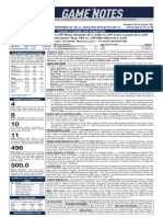 09.14.20 Game Notes