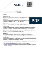Copyright and Social Media - A PRELIMINARY CASE STUDY OF PINTEREST.pdf