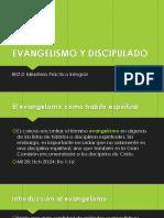 1. EVANGELISMO Y DISCIPULADO