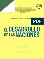 EL DESARROLLO 3 ENFRENTA LOS DESAFÍOS DE LA SOCIEDAD JUL 20