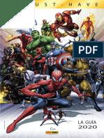 Plan Editorial colección Marvel Must Have