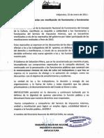 ANFUCULTURA solidariza con funcionarios movilizados del SII