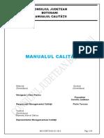 Manualul calitatii 2013