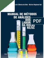 manual de metodos em dezembro de 2018 para laboratórios