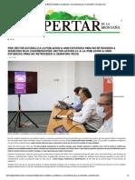 19-07-2020 Pide Héctor Astudillo a la población a unir esfuerzos para no retroceder a semáforo rojo.