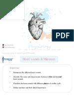 Heart sound & murmurs