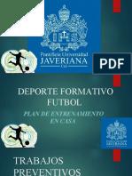 PLAN DE ENTRENAMIENTO D.F FUTBOL JAVERIANA.ppt