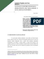 [2009] NUNES Diego - A INFLUÊNCIA ITALIANA NA DOUTRINA DE SEGURANÇA nacional in projetos em foco.pdf