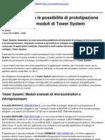 Freescale amplia le possibilità di prototipazione attraverso nuovi moduli di Tower System - 2010-11-01