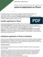 Guida all'installazione di applicazioni su iPhone - 2010-11-08