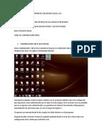 PROCEDIMIENTO PARA COMUNICAR CON MICOM CELDAS 13