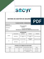 PLAN DE ACCIÓN - CORONAVIRUS 2020 Ed 051