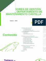 Informe de desempeño del proceso IDA GDT - Febrero