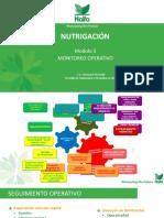 MODULO 5. MONITOREO EN NUTRIGACIÓN FLORES