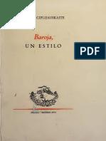 Baroja, un Estilo - Birute Ciplijauskaite