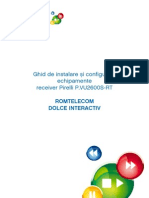 Romtelecom - Ghid de instalare Pirelli cu HDD !!!!!