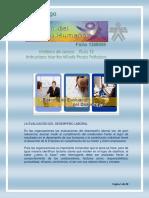 MATERIAL DE APOYO GUÍA 12. Evaluación