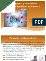 La pandemia y los cambios económico-políticos en América