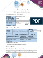 Activity Guide and Evaluation Rubric - Post-Task - Final Exam - Writing and Speaking (2)