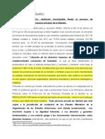 HACINAMIENTO CARCELARIO SEGUNDO CORTE. Observaciones. (1)