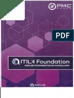 ITIL Foundations v4 Guía de Fundamentos en Castellano