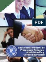 Enciclopedia Moderna De Procesos En Negocios Administracion y Gestion Empresarial