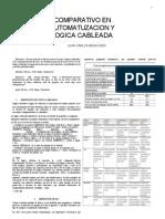 COMPARATIVO LOGICA CABLEADA