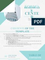 Formal Healthcare Center by Slidesgo
