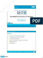 use case traceability
