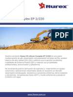 TDS - Nurex HD Lithium Complex EP 2-220