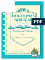 Dr. Marcos G. Cambron. - Doctrinas Biblicas