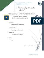 HISTORIA DE LA TECNOLOGIA DE LOS ALIMENTOS resumen
