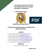 Informe Final - Planificacion