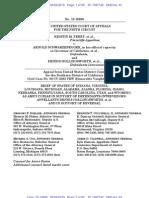 Brief of Amici Curiae IN, VA, LA, MI, AL, AK, FL, ID, NE, PA, SC, UT, and WY in Support of Defendants-Intervenors-Appellants