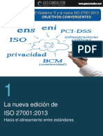 Gobierno TI e ISO 27001 Objetivos convergentes - GES Consultor